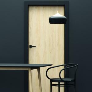 Uși de interior cu finisaj sintetic