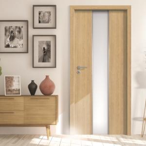 Uși de interior furniruite